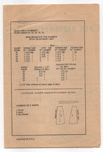 "1950's American Weekly A- Line Skirt Pattern - Waist 28"" - UC/FF - No. 3861"