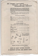 1940's DuBarry Girl's Apron or Pinafore Dress Pattern - 2yrs - No. 5672