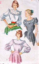 1940's Simplicity Blouse Pattern - Bust 30  - no. 2483