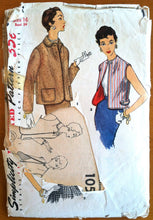 1950's Simplicity Women's Set of Jackets Pattern - Bust 34 - no. 1054