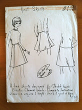 1960's Women's Skirts Patterns - no. 1002 & 1006