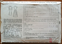1940's Simplicity Day and Evening Dress - Bust 32 - UNCUT - no. 4895