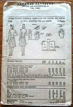 1940's Advance Women's Dress with Two Sleeve Lengths Pattern - Bust 32 - no. 3058