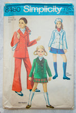 1960's Girl's Jacket, Pants and Mini-pantskirt -
