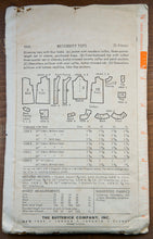 "1960's Butterick Maternity Blouse pattern - Bust 34"" - No. 9448"