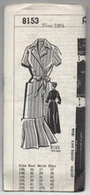 "1950's Patt-O-Rama Shirtwaist Dress pattern - UNCUT - Bust 39"" - No. 8153"