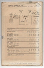 "1950's Advance Maternity Dress or Smock - Bust 30"" - UC/FF - No. 6484"