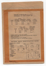 "1950's Marian Martin Junior's Blouse, Shorts and Skirt Pattern - Bust 28"" - No. 9197"