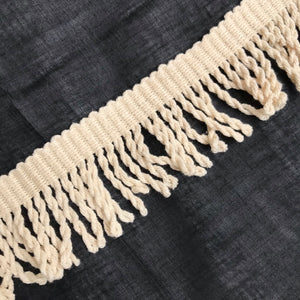 1970's Fringe Trim in cream