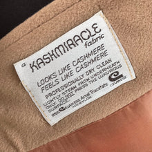 1970's Kashmiracle Tan Coat with Tie belt