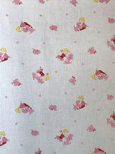 1950's Pink Dog with Boys and Girls Fabric