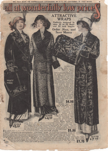 1910's Standard Mail Order Fashion Catalog