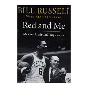 "Autographed NBA Hard Cover ""Red and Me"" Book"