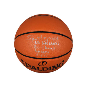 Autographed NBA Replica Basketball – Silver