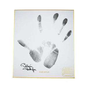 Autographed NBA Gold-bound Handprint