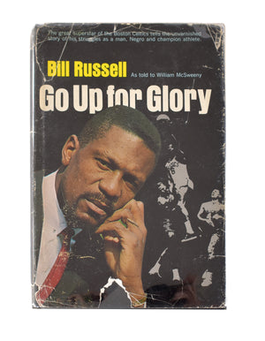 "Autographed Hardcover ""Go Up For Glory"" Book"