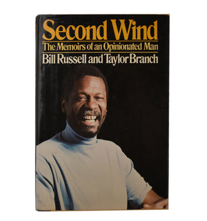 "Autographed Hard Cover ""Second Wind, The Memoirs of An Opinionated Man"" Book"