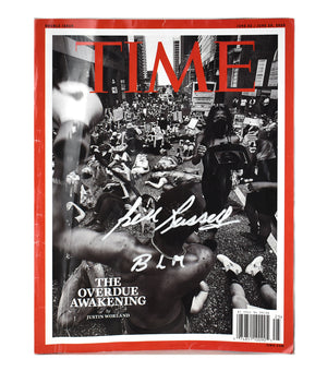 "Autographed Time Magazine (Double Issue) ""The Overdue Awakening"" BLM"