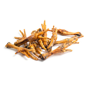 Natural Chicken Feet Dog Treats x5