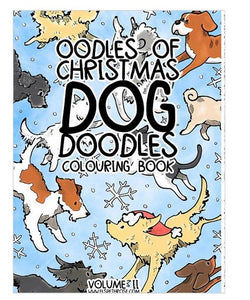 Dog Colouring In Book