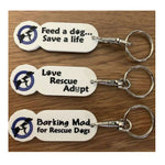 BMDR Shopping Trolley Token Keyring
