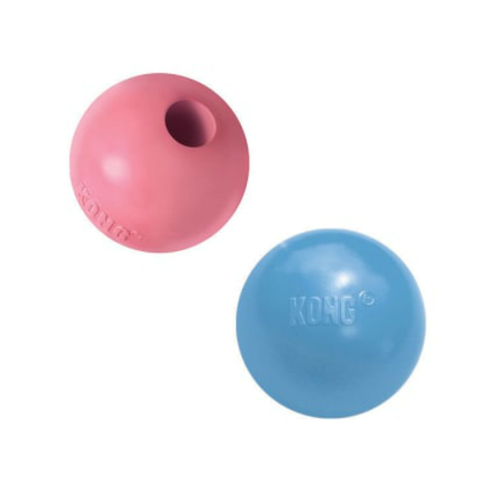 Kong Puppy Ball - Pink/Blue