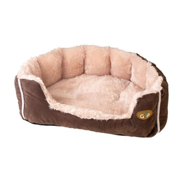 Nordic Snuggle Bed - Brown