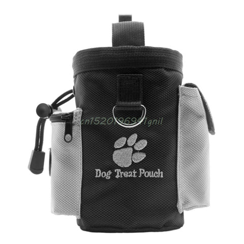 a653defdf9f 1PC Black Dogs Treat Bags Pet Dog Puppy Obedience Agility Bait Training  Waterproof Food Treat Pouch