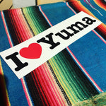 I Love Yuma bumper stickers