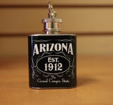 Mini Flasks Keychain