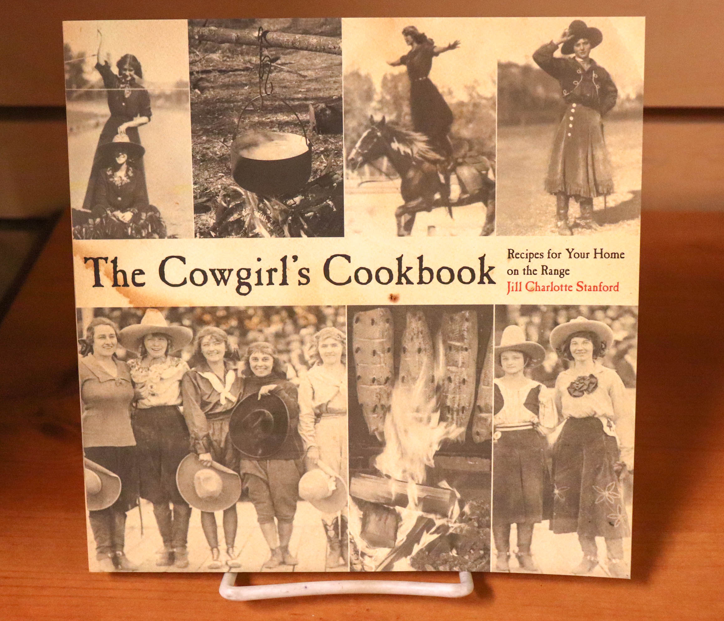 The Cowgirl's Cookbook by Jill Charlotte Stanford