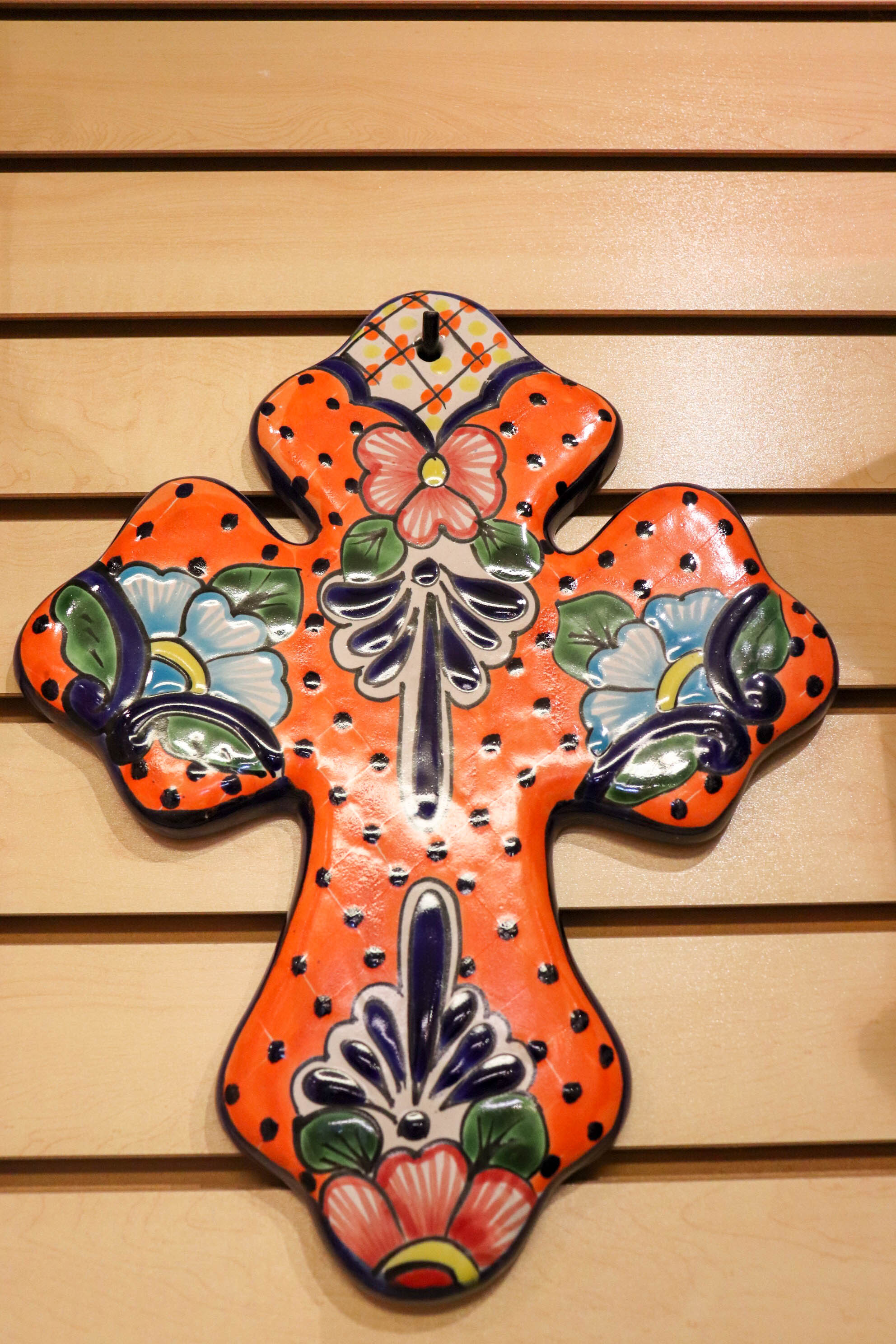 Ceramic Cross from Mexico