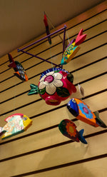 Decorative Fish Wind Chimes from Mexico