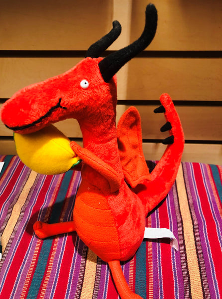 Dragon loves tacos plush toy