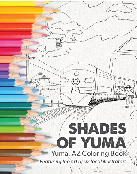Shades of Yuma Coloring Book