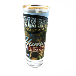 Yuma Collage Shot Glass - Ocean to Ocean