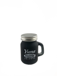Yuma Black Mason Jar (Shot glass)