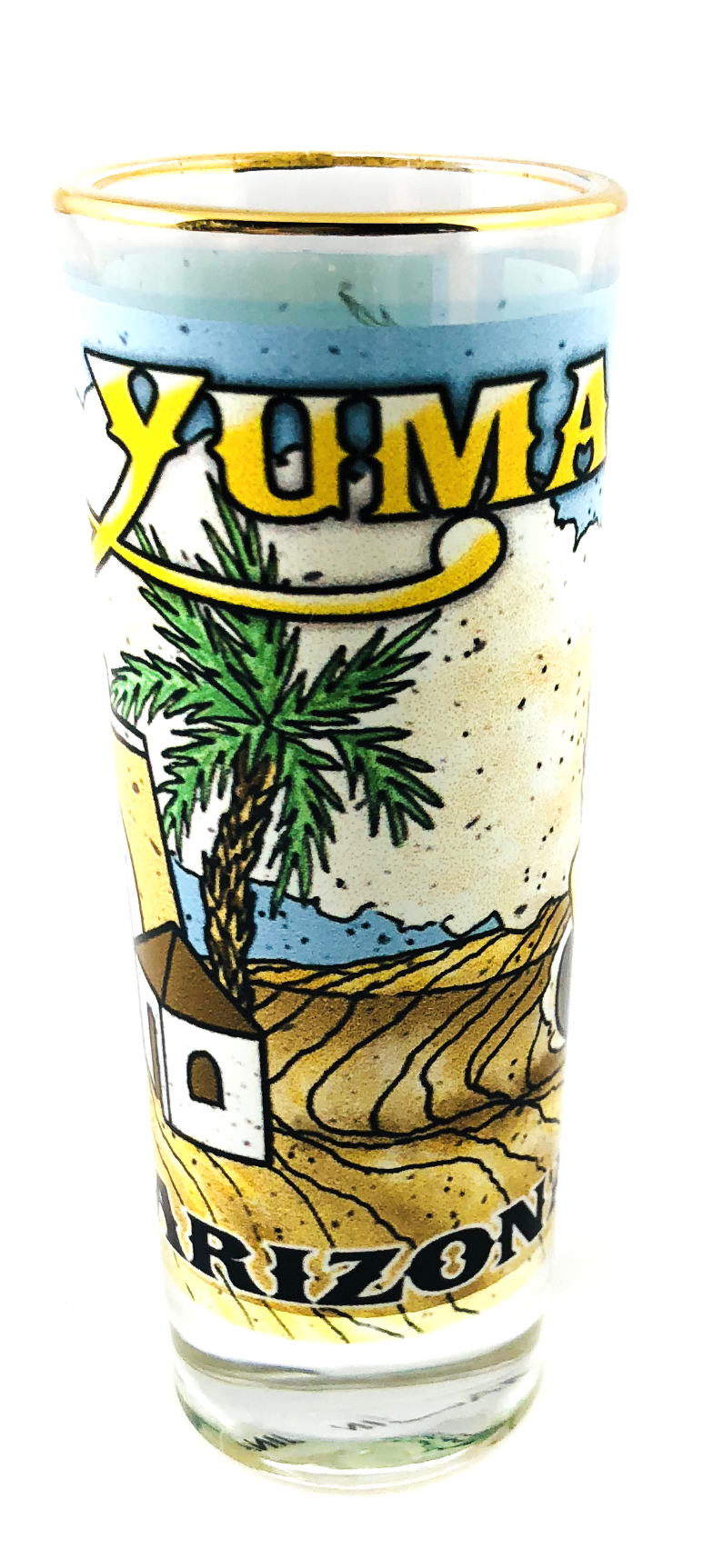 Yuma Territorial Prison Tall Shot Glass