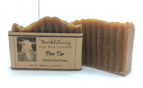 Pine Tar Goat Milk Soap Bar