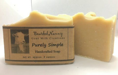 Purely Simple Goat Milk Soap Bar