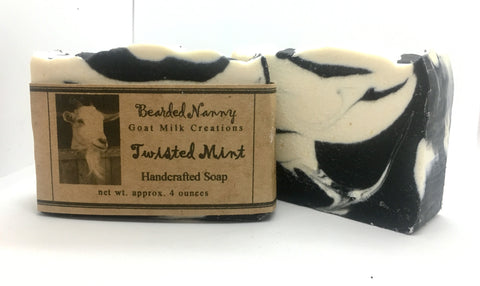 Twisted Mint Goat Milk Soap Bar