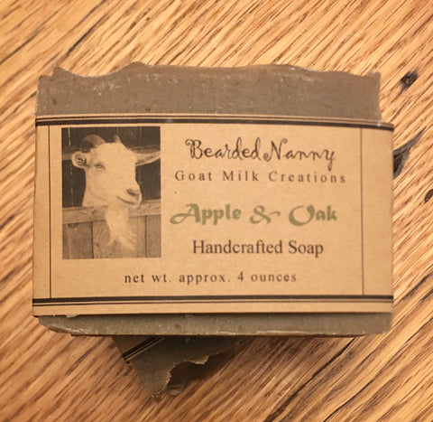 Apple & Oak Goat Milk Soap Bar