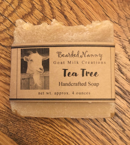 Tea Tree Essential Oil Goat Milk Soap