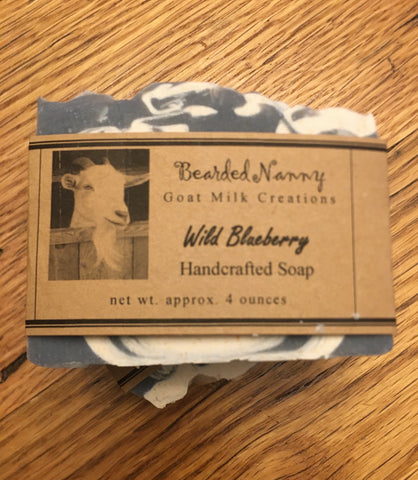 Wild Blueberry Goat Milk Soap Bar