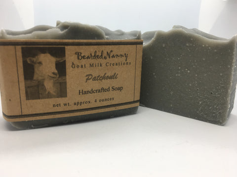 Patchouli Goat Milk Soap Bar
