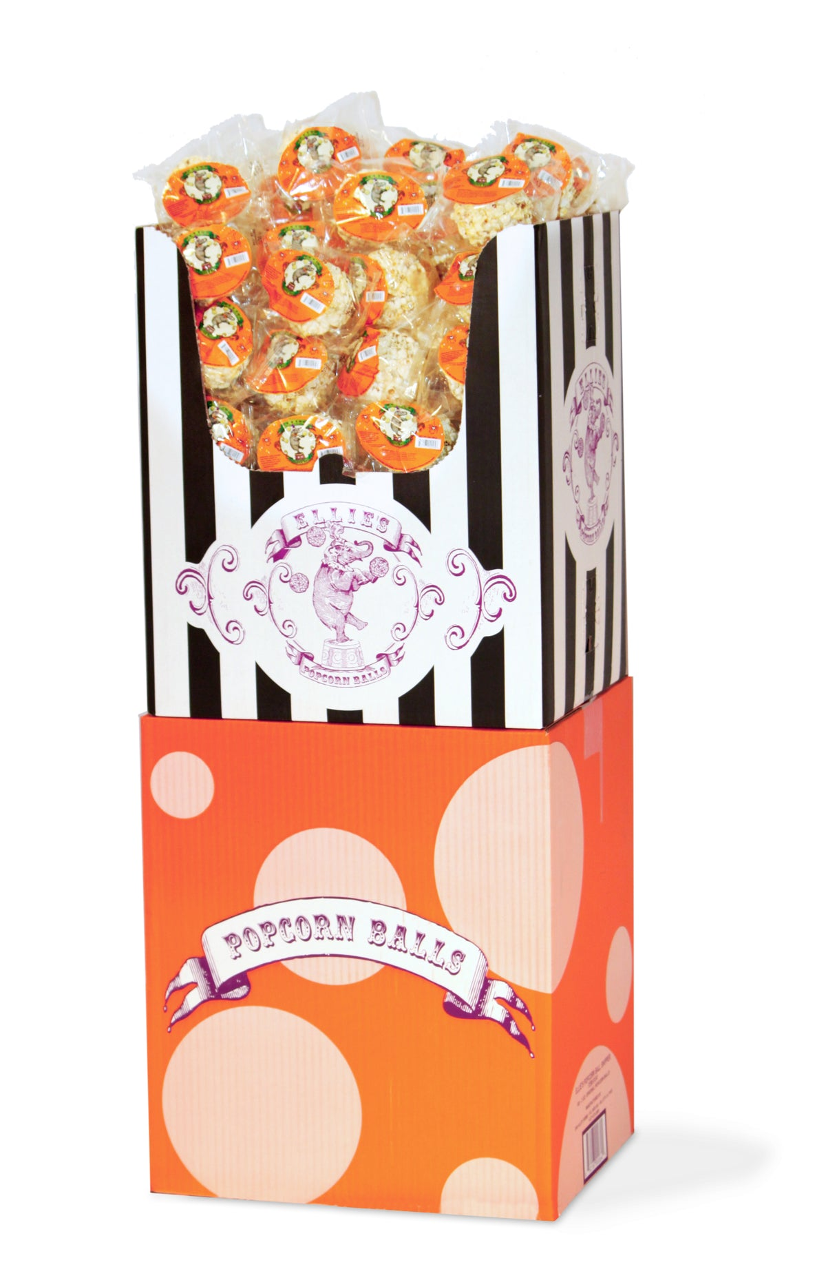 Ellie's - Original Popcorn Ball Halloween Shipper