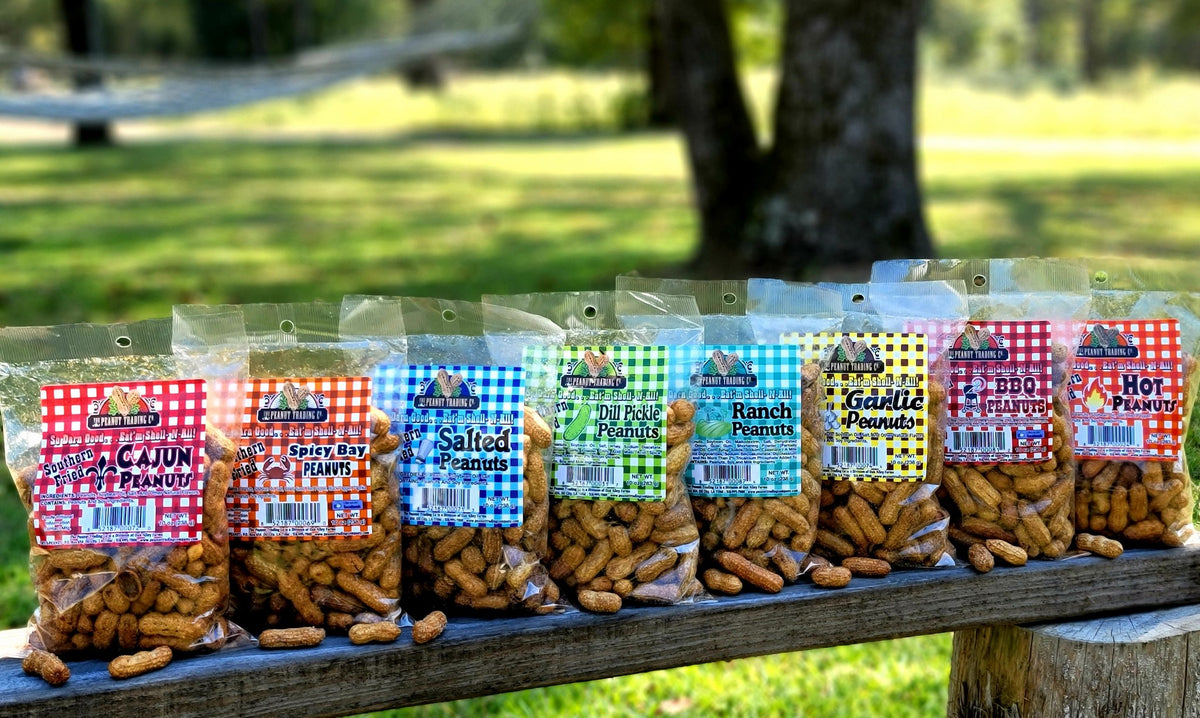 Peanut Trading Company - Deep Fried Peanuts Sampler Pack