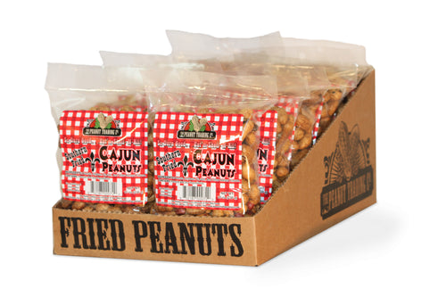 Peanut Trading Company - Deep Fried Peanuts Counter Display - Cajun