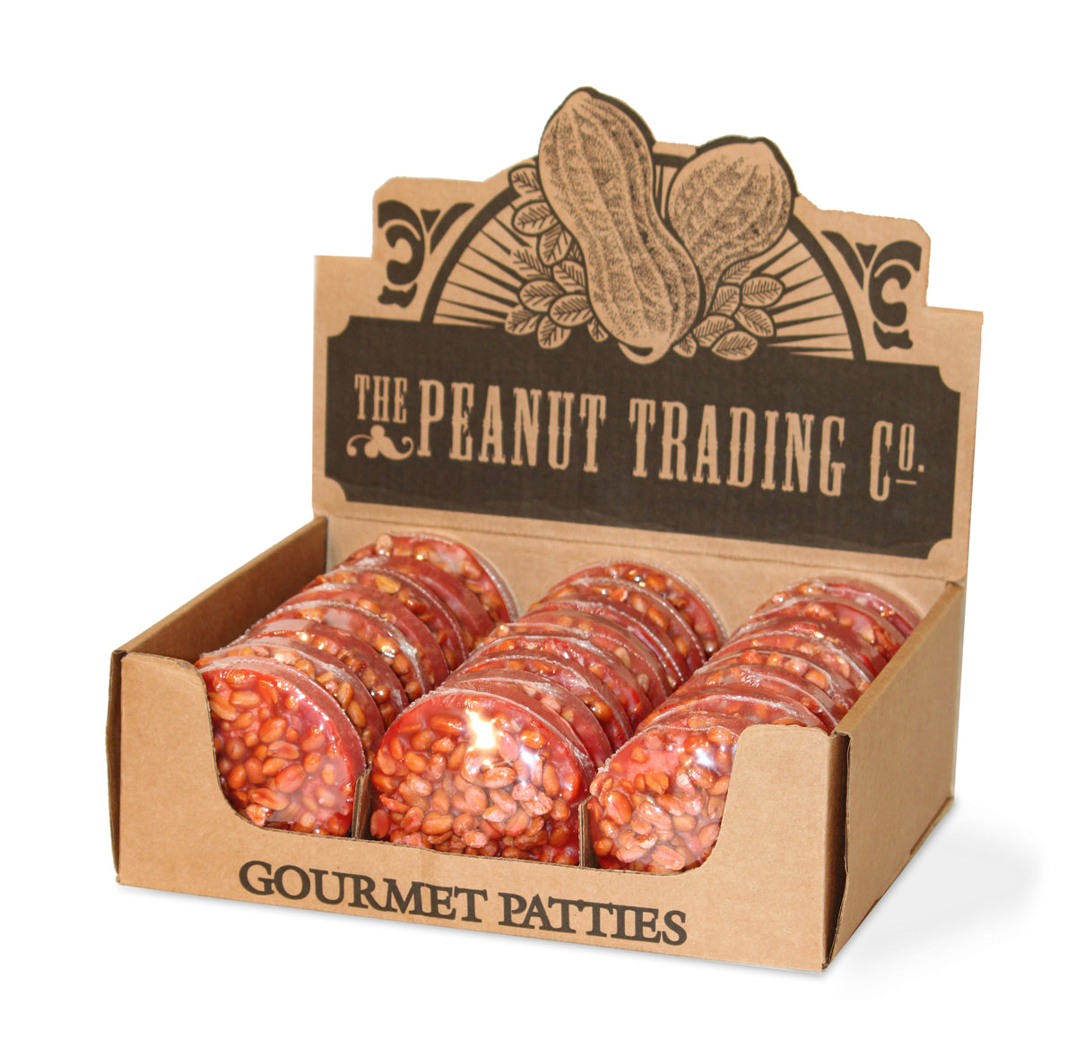 Peanut Trading Company - Peanut Pattie Counter Display - Giant