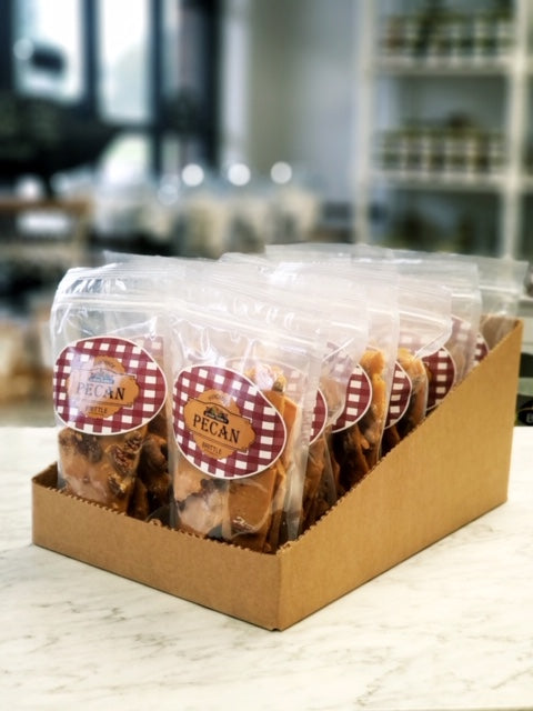 Peanut Trading Company Brittle - Brittle Counter Display - Cashew